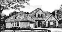 Traditional Style Home Design Plan: 8-412