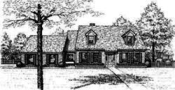 Country Style Floor Plans Plan: 8-427