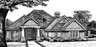Traditional Style House Plans Plan: 8-429