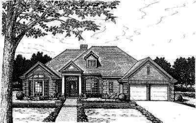 Traditional Style Floor Plans Plan: 8-432