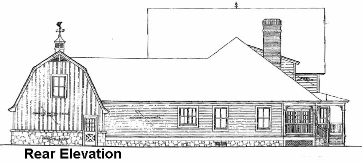 Rear Elevations Plan:8-436