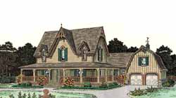Farm Style House Plans Plan: 8-436