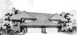 Contemporary Style House Plans Plan: 8-441
