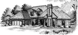 Traditional Style Home Design Plan: 8-451