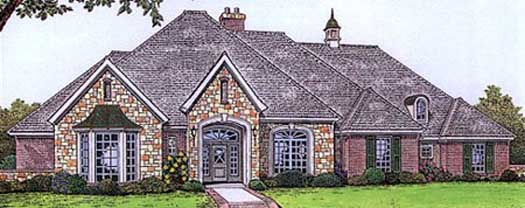 Traditional Style Floor Plans Plan: 8-459
