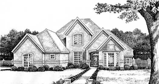 Traditional Style Floor Plans Plan: 8-474