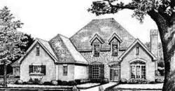 European Style Floor Plans Plan: 8-476