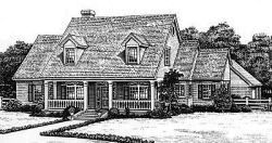Country Style House Plans Plan: 8-483