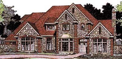 Traditional Style Floor Plans Plan: 8-484