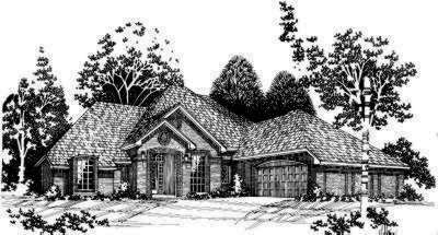 Traditional Style Home Design Plan: 8-490