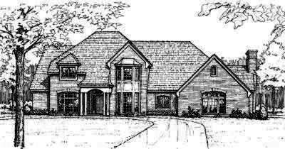 Traditional Style House Plans Plan: 8-504