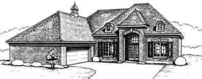 Traditional Style Floor Plans Plan: 8-508