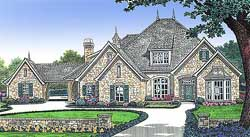 French-Country Style House Plans Plan: 8-509