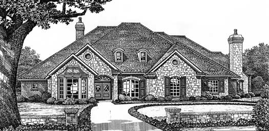 Traditional Style Floor Plans Plan: 8-513