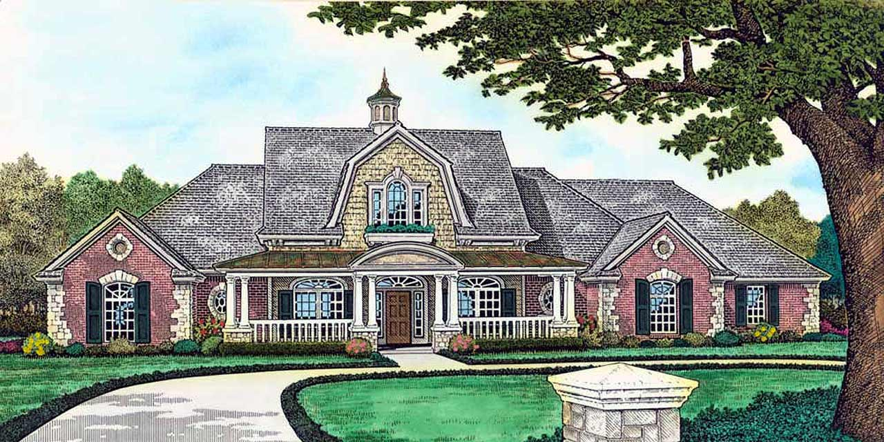 Farm Style Floor Plans 8-527