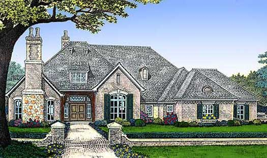Traditional Style Floor Plans Plan: 8-528