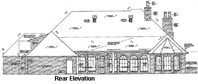 Rear Elevation Plan: 8-528