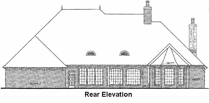 Rear Elevations Plan:8-533