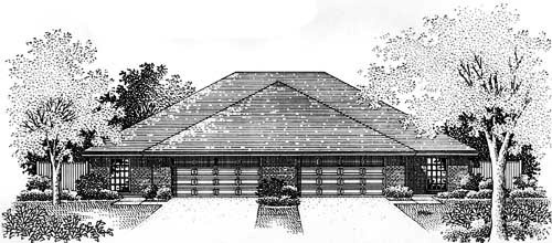 Traditional Style Floor Plans Plan: 8-550