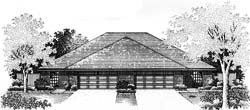 Traditional Style House Plans Plan: 8-550