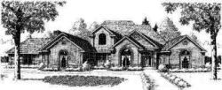 Traditional Style Floor Plans Plan: 8-551