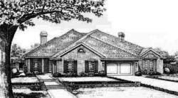 Traditional Style House Plans Plan: 8-557