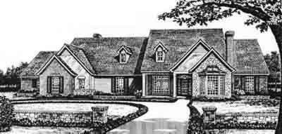 Traditional Style House Plans Plan: 8-564