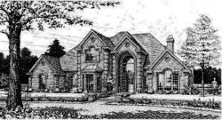 European Style Floor Plans Plan: 8-567