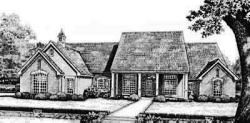 Country Style Floor Plans Plan: 8-569