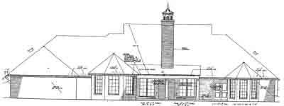 Rear Elevation Plan: 8-573