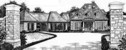 French-Country Style House Plans Plan: 8-580