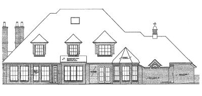 Rear Elevations Plan:8-583