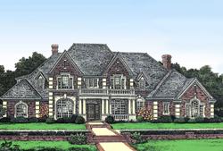 European Style House Plans Plan: 8-586