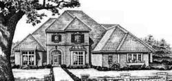 Traditional Style Floor Plans Plan: 8-589