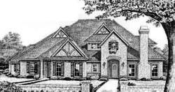European Style House Plans Plan: 8-594