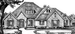European Style House Plans Plan: 8-595