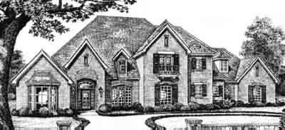 Traditional Style Floor Plans Plan: 8-597