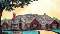 European Style House Plans 8-600