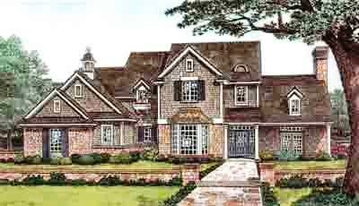 Country Style Floor Plans Plan: 8-616