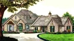 European Style House Plans Plan: 8-617