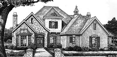 Traditional Style House Plans Plan: 8-619