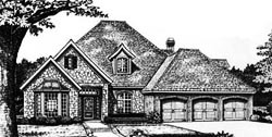 Traditional Style House Plans Plan: 8-621