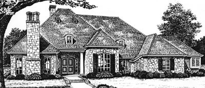 Traditional Style Floor Plans Plan: 8-622