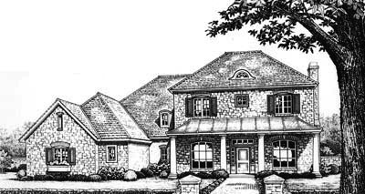 Traditional Style House Plans Plan: 8-626