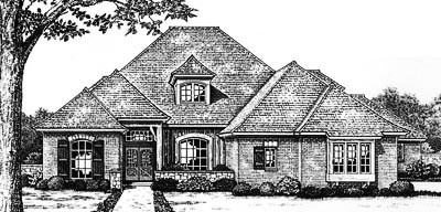 European Style Floor Plans Plan: 8-635