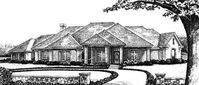 Traditional Style Floor Plans Plan: 8-638