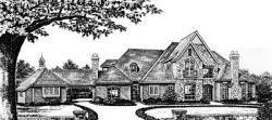 European Style House Plans Plan: 8-643