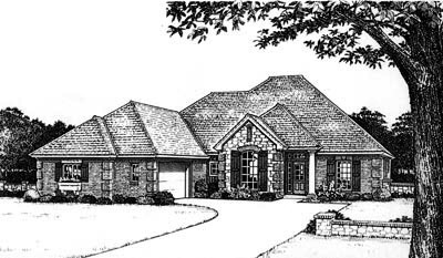 Traditional Style Floor Plans Plan: 8-647