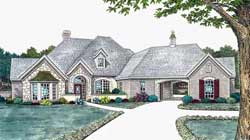 Traditional Style Home Design Plan: 8-648