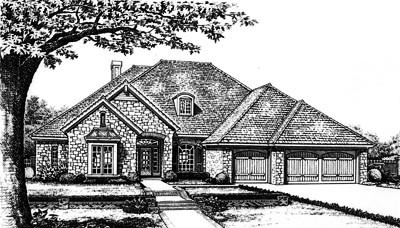 Traditional Style House Plans Plan: 8-649